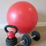 Ball and weights